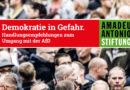 Demokratie in Gefahr. Handlungsempfehlungen zum Umgang mit der AfD