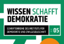 IDZ Jena: Wissen schafft Demokratie 5/2019 – Ländlicher Raum