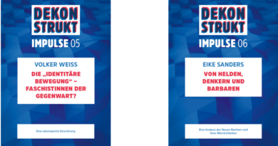 """Dekonstrukt – """"Neue Rechte"""""""
