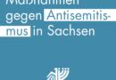 Maßnahmen gegen Antisemitismus in Sachsen