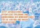 #unteilbar: Antifaschismus ist gemeinnützig