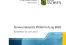 Innovationspreis Weiterbildung des Freistaates Sachsen 2020