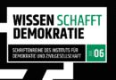 IDZ Jena: Wissen schafft Demokratie 06/2019 – Rechtsterrorismus