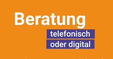 #corona – Beratungsstellen jetzt telefonisch oder digital!