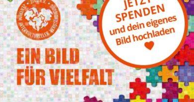 """Jetzt Crowdfunding unterstützen: """"Ein Bild für Vielfalt"""" für einen Gemeinschaftsraum der Vielfalt in Dresden"""