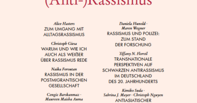 Aus Politik und Zeitgeschichte: (Anti-)Rassismus