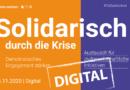 Rückblick 14.11.2020 | TolSax Konkret Digital | Solidarisch durch die Krise – Demokratisches Engagement stärken