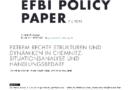 EFBI Policy Paper #2: Situationsanalyse extrem rechter Strukturen und Dynamiken in Chemnitz