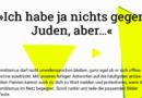 Online-Tool: »Ich habe ja nichts gegen Juden, aber…«