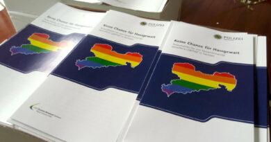 Keine Chance für Hassgewalt! Anlaufstellen für von Hasskriminalität Betroffene LSBTTIQ* in Sachsen