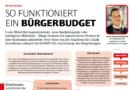 Zeitschrift KOMMUNAL 07/08: So funktioniert ein Bürgerbudget