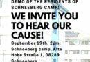 Leid im Lager sichtbar machen – Geflüchtete in Schneeberg organisieren Protest am 19.09. / Make suffer in the camp visible – refugees in Schneeberg organize a protest for 19.09.