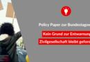 Policy Paper zur Bundestagswahl: Kein Grund zur Entwarnung – Zivilgesellschaft bleibt gefordert